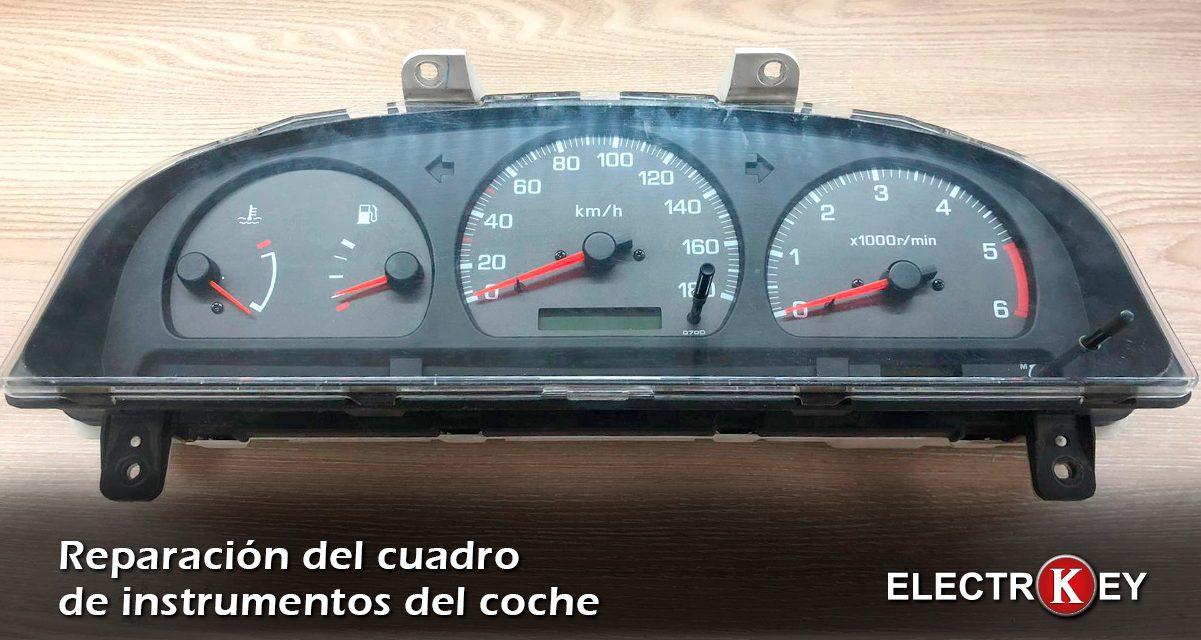 Reparación de cuadro de instrumentos de coche