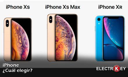 ¿Qué iPhone elegir?