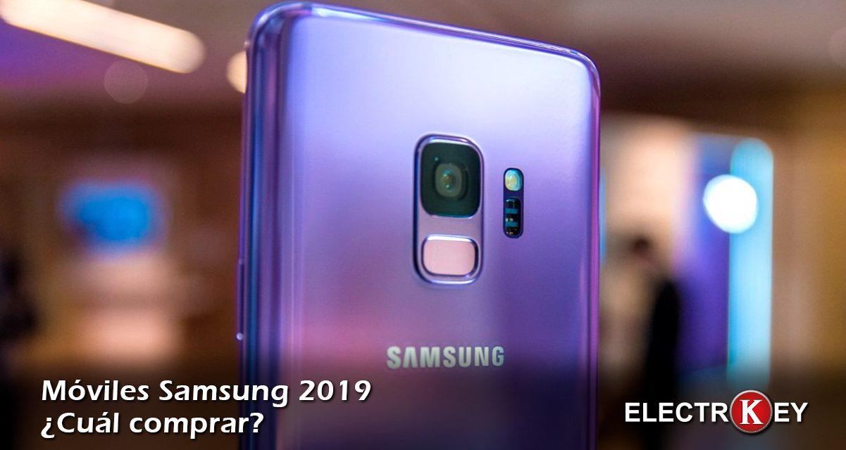 ¿Qué móvil Samsung comprar en 2019?