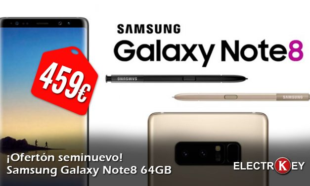 Samsung Galaxy Note8 64gb seminuevo