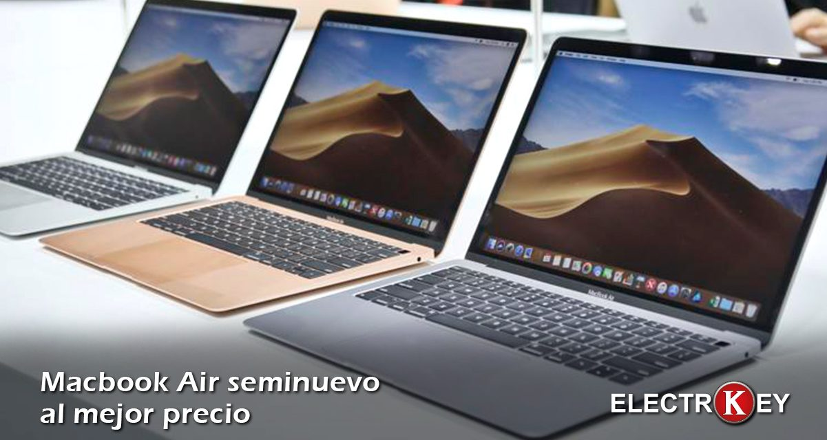 Macbook Air seminuevo