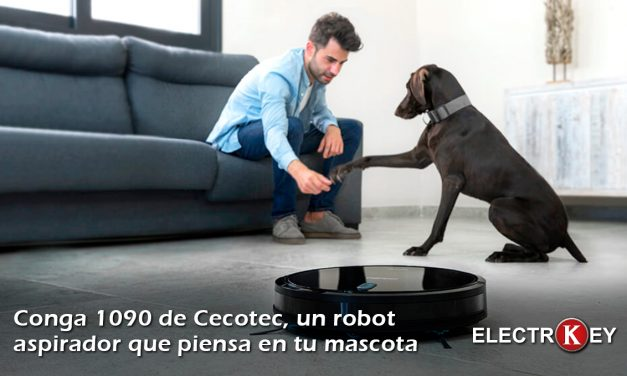 Robot aspirador Conga 1090 especial para mascotas 🐶🐱