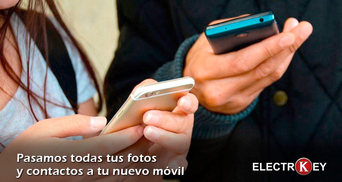 Pasar todas tus fotos y contactos a un nuevo móvil