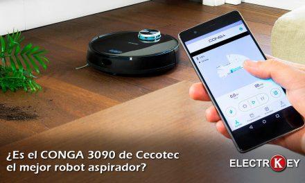 ¿Es el CONGA 3090 el mejor robot aspirador que friega?