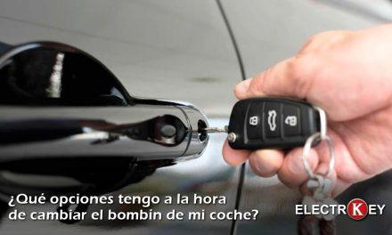 Consejos al cambiar el bombín del coche en Albacete