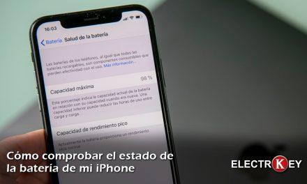 Comprobar si debemos cambiar la batería del iPhone 🔋