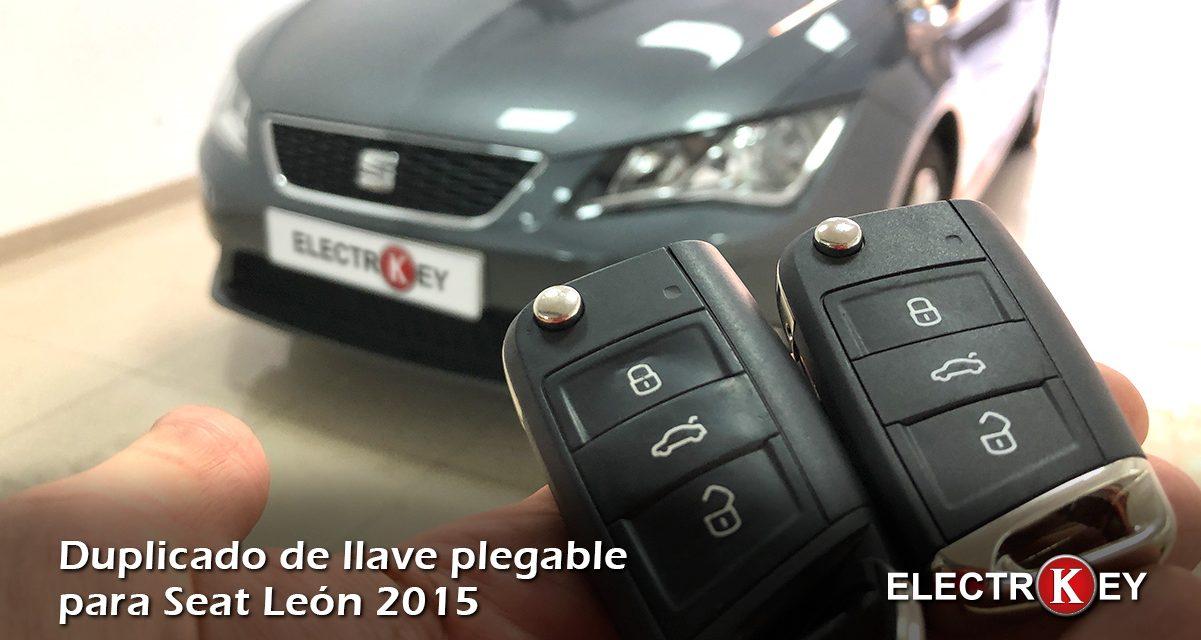 Copia de llave para Seat León año 2015