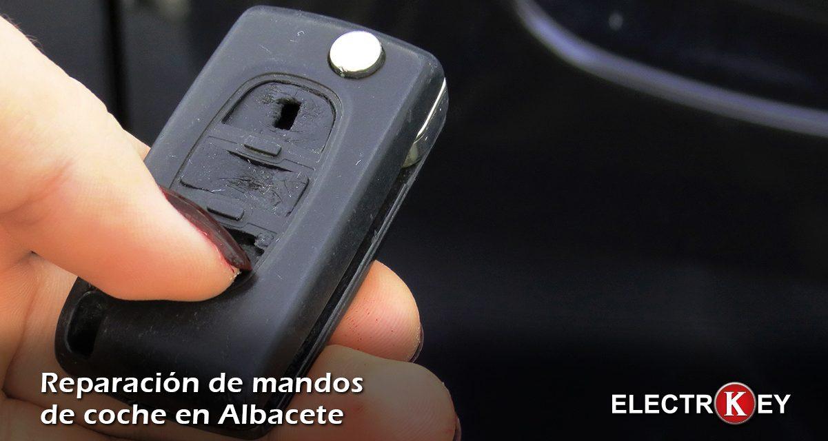 Reparación del mando del coche en Albacete