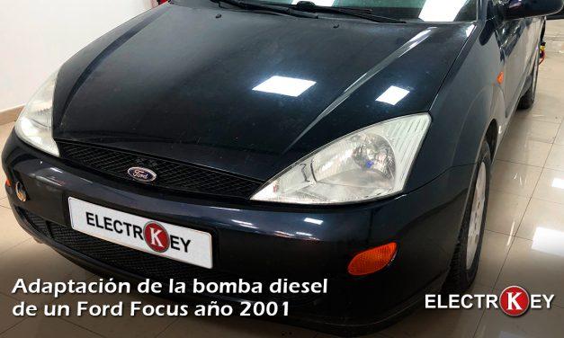 Adaptación bomba inyectora diesel VP44 a Ford Focus 2001