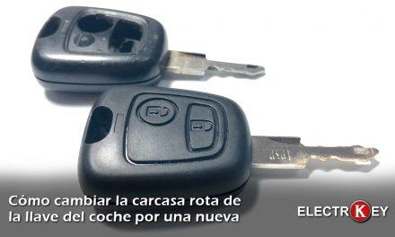 Cómo cambiar la carcasa de la llave del coche