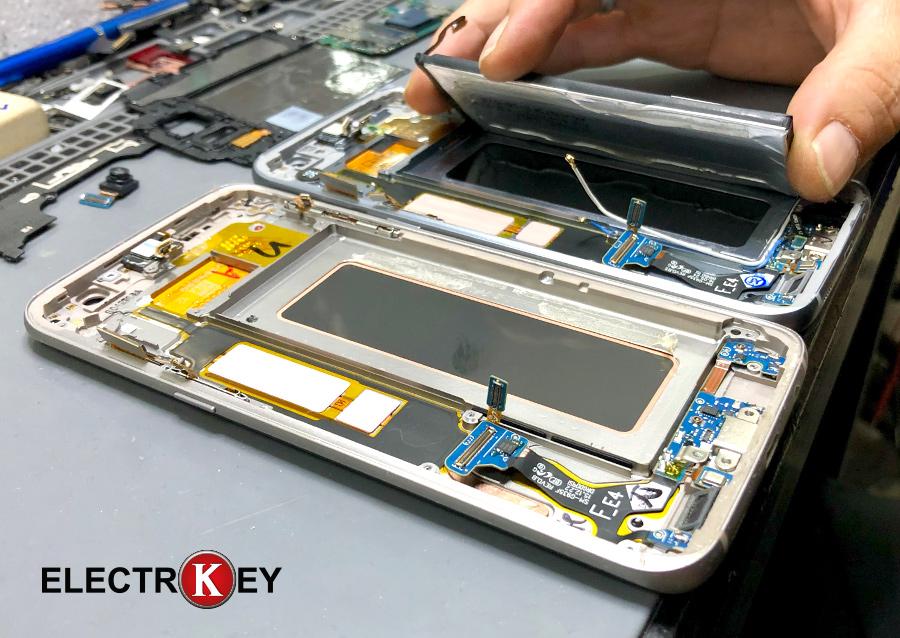 Cambio de componentes del chásis con pantalla rota al nuevo
