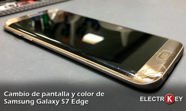 Cambiar pantalla de un Samsung Galaxy S7 Edge