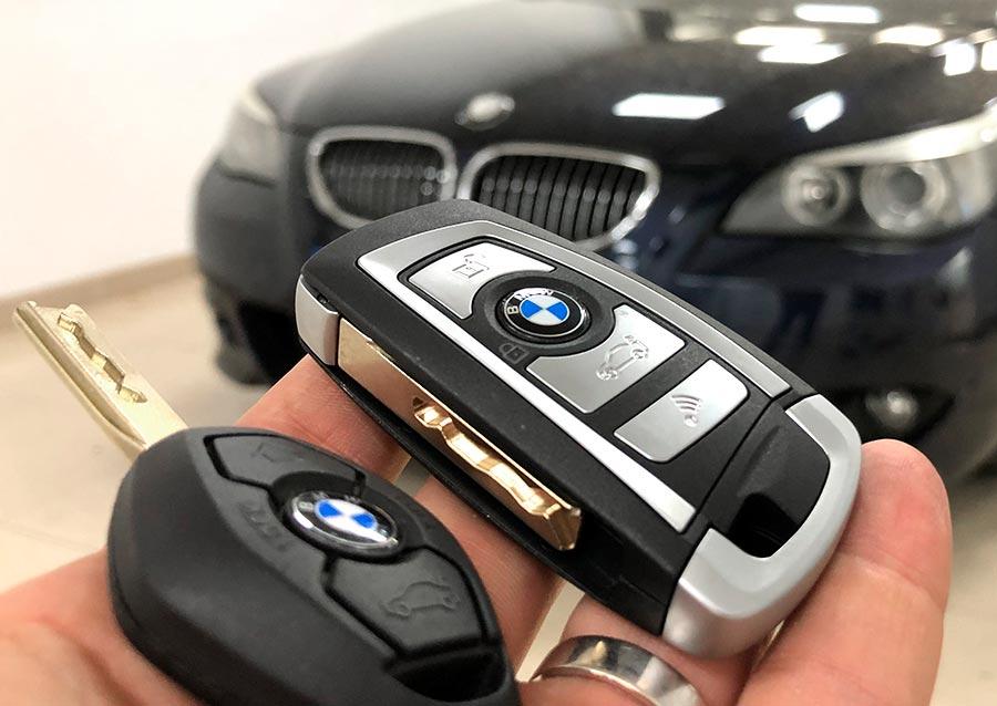 Duplicado y mejora de carcasa de llave para BMW Serie 5