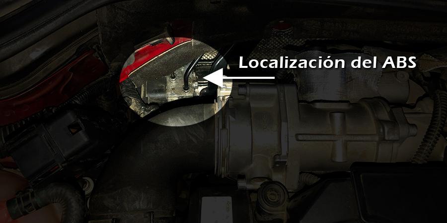 Localización del módulo ABS en Seat Leon 2009