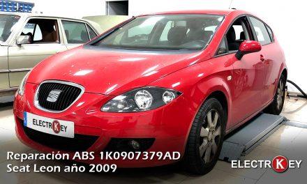 Reparación ABS 1K0907379AD Seat Leon año 2009