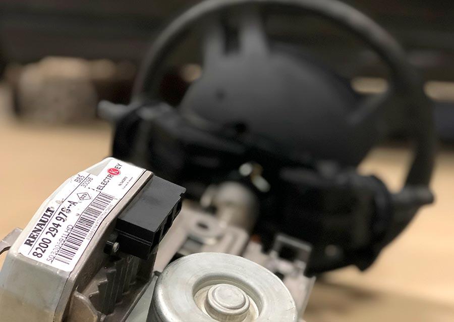 Dirección eléctrica de Renault Clio III