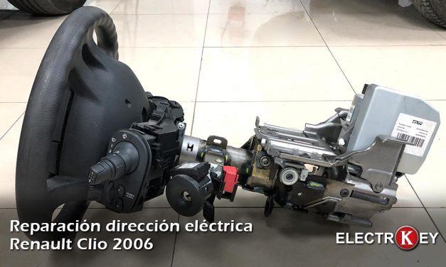 Reparación de dirección asistida eléctrica Renault Clio III 2006