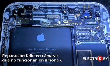 Reparación iPhone 6 porque la cámara no funciona