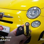 Copia de llave Fiat 500 ABARTH 🔑🔑