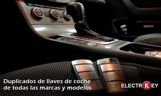 Copia de llaves de coche en Albacete