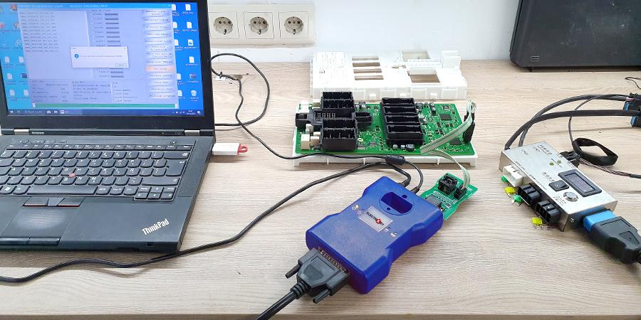 Realizamos el duplicado con ayuda de la plataforma de pruebas FEM