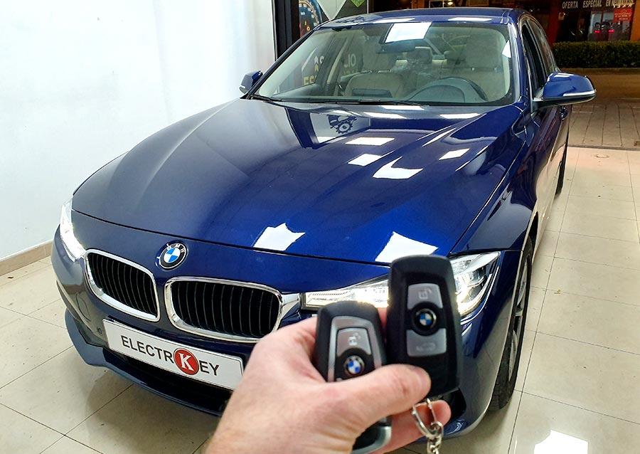 Copia de llave de BMW Serie 3 F30 2017 realizada en Electrokey