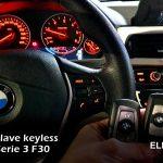 Copia llave BMW Serie 3 F30 2017