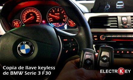 Copia llave BMW Serie 3 F30 2017
