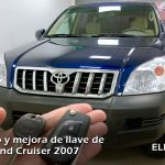 Copia de llave Toyota Land Cruiser 2007