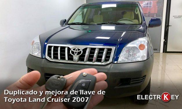 Copia de llave Toyota Land Cruiser 2007
