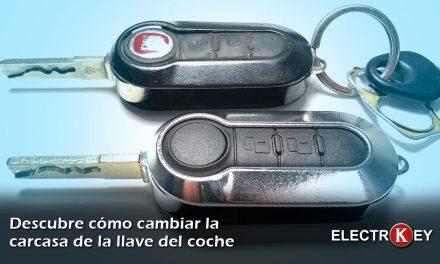 Cambiar la carcasa de la llave de tu coche es muy sencillo
