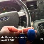 Copia de llave de Ford Transit 2007 en Albacete