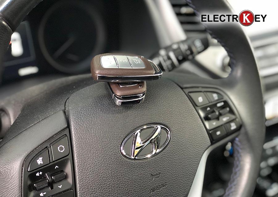 Copia de llave keyless de Hyundai Tucson 2016 realizado en Electrokey