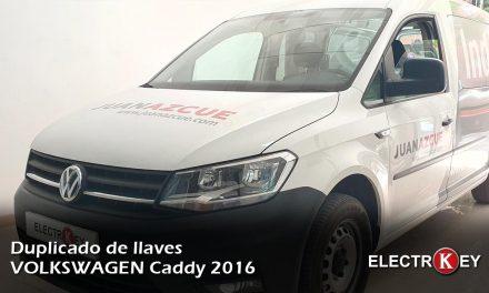 Duplicado de llave VOLKSWAGEN Caddy 2016