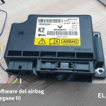 Resetear software centralita airbag Renault Megane III