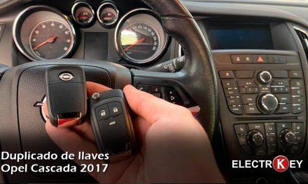 Duplicado de llaves Opel Cascada 2017