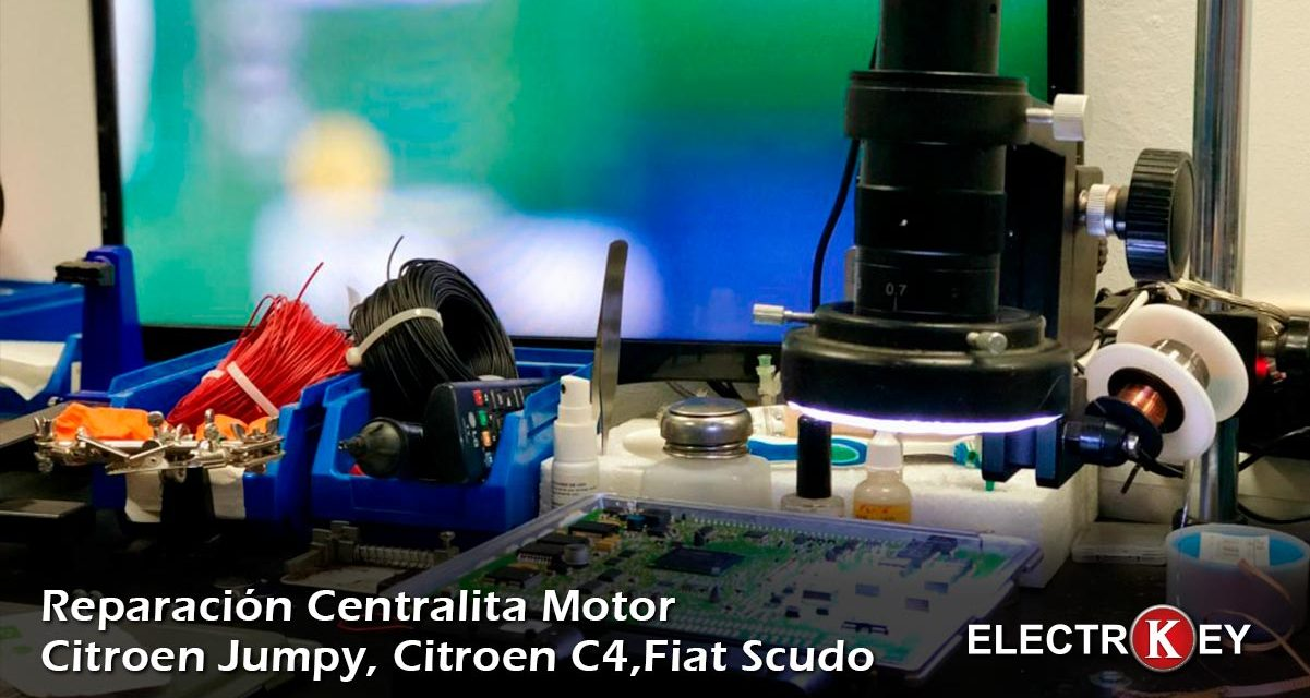 Reparación Centralita Motor 5ws40615ct-9665100380