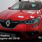 Duplicado keyless Renault Megane del 2018