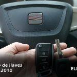Duplicado de llaves SEAT IBIZA 2010