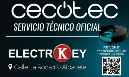 Servicio Técnico Oficial CECOTEC en Albacete
