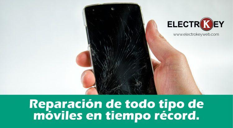 Reparación de todo tipo de móviles en tiempo récord.