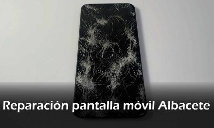 Reparación pantalla móvil Albacete