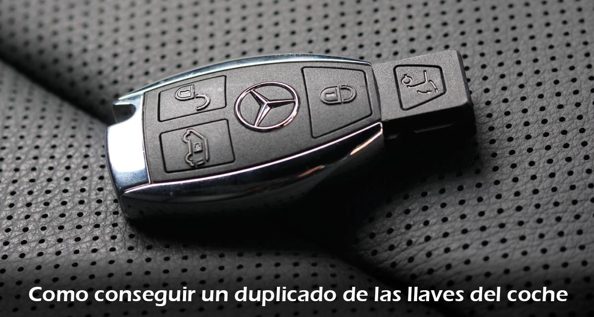 Como conseguir un duplicado de las llaves del coche