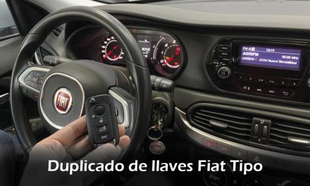 Duplicado de llaves Fiat Tipo 2016