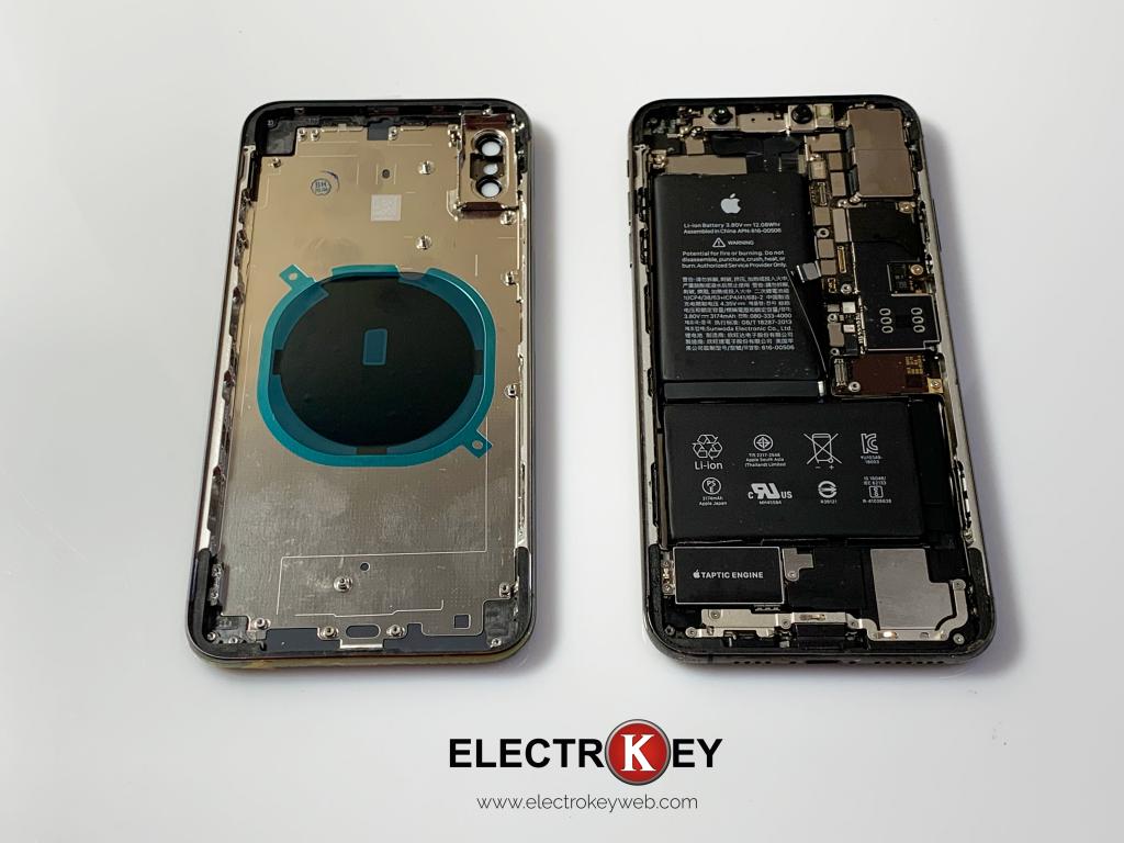 Cambio de pantalla trasera Iphone XS MAX