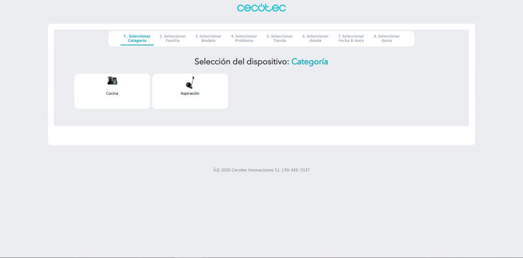 Servicio Técnico Oficial Cecotec Albacete