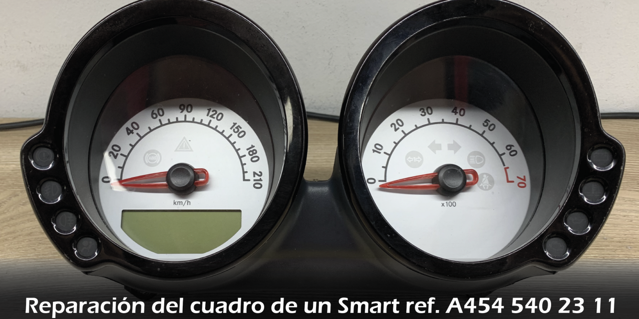 Reparación del cuadro de un Smart ref. A4545402311