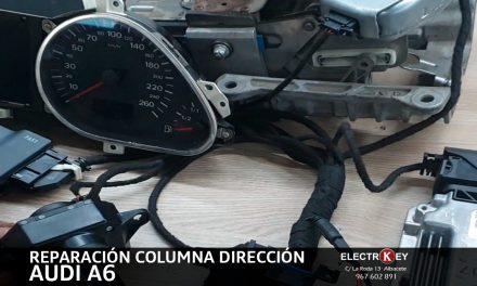 REPARACIÓN DE LA COLUMNA DE DIRECCIÓN AUDI A6