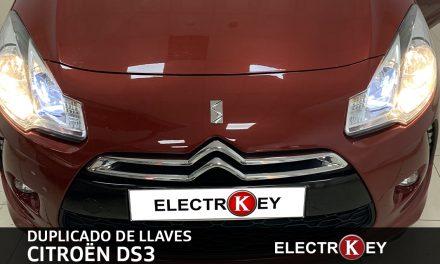 DUPLICADO DE LLAVES CITROËN DS3