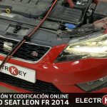 SUSTITUCIÓN CUADRO INSTRUMENTOS y codificación online SEAT LEON FR 2014